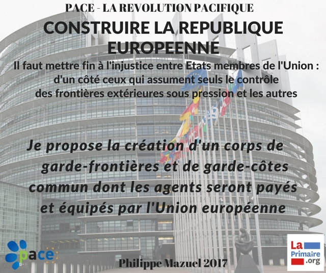 republique européenne - garde frontières